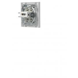 EPH0300121 INTRERUPATOR DUBLU IP20 ALB