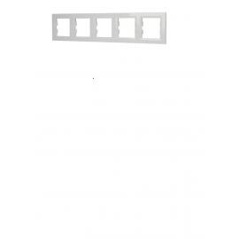 EPH5800521 RAMA 5 POSTURI ORIZONTALA ALB