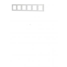EPH5800621 RAMA 6 POSTURI ORIZONTALA ALB