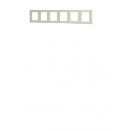 EPH5800623 RAMA 6 POSTURI ORIZONTALA CREM