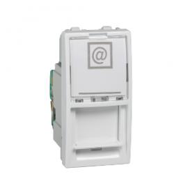 EPH4700121 PRIZA DATE SIMPLA RJ45 CAT. 6 UTP ALB