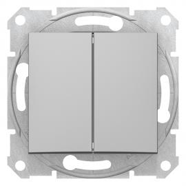 SDN0600160 INTRERUPATOR DUBLU CAP SCARA 10A IP20 ALUMINIU