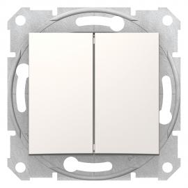 SDN0300123 INTRERUPATOR DUBLU 10A 250VAC IP20 CREM