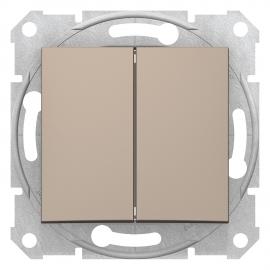 SDN0300168 INTRERUPATOR DUBLU 10A 250VAC IP20 TITAN