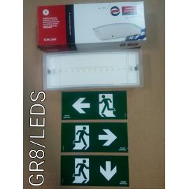 GR8/LEDS LAMPA EMERGENTA LED PERM./NEPERM. 40/100lm 1.5h