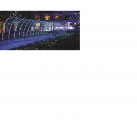 30-19100 SIR EXTERIOR 100 LED ALB RECE CU CABLU 10M