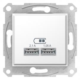 SDN2710221 PRIZA DUBLA INCARCARE USB 2.1A