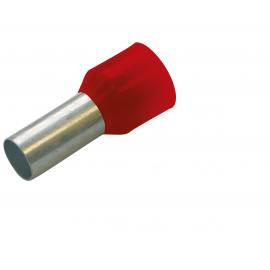 270804 Tub capat izolat 1mmp rosu