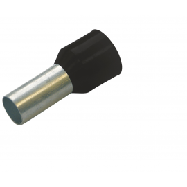 270808 Tub capat izolat 1.5mmp negru
