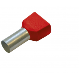 270784 Tub capat izolat dublu 1.0mmp/8mm 100buc/set