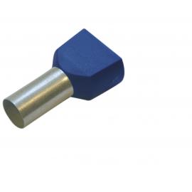 270792 Tub capat izolat dublu 2.5mmp/10mm 100buc/set