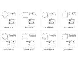 9039-HEXA Presa de sertizat tub de capat izolat 0.25-6 mmp