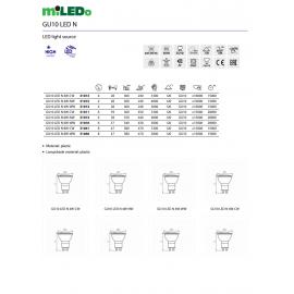 KX-AREL LED DL 10W-NW 29586