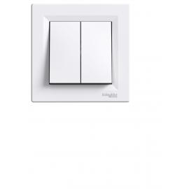 EPH0600121 INTRERUPATOR DUBLU CAP-SCARA IP20 ALB