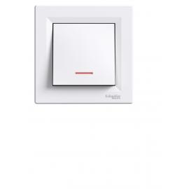 EPH1400121 INTRERUPATOR SIMPLU CU LED  IP20 ALB